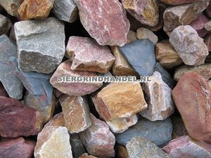 Grauwacke sierstenen rots