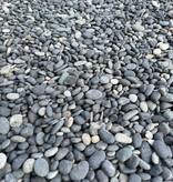 Beach Pebbles Black siergrind
