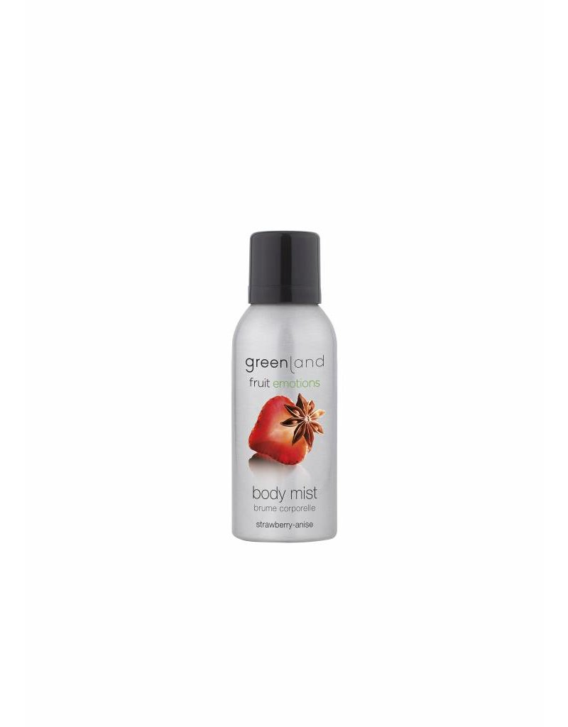 Fruit Emotions body mist, aardbei-anijs, 75 ml