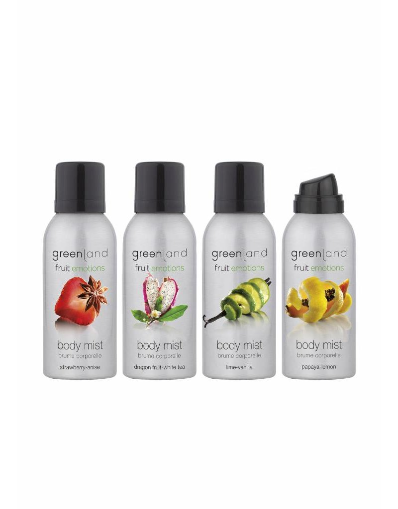 Fruit Emotions body mist lime-vanilla, 75 ml