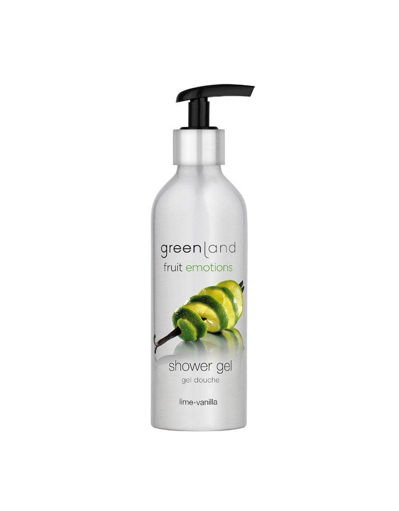 Fruit Emotions, shower gel, lime - vanilla
