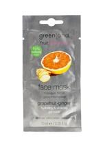 Fruit Emotions, gezichtsmasker, grapefruit-gember, 10 ml