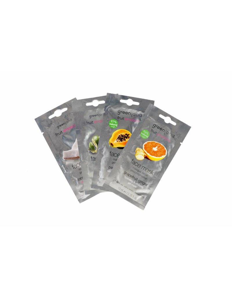 Fruit Emotions, gezichtsmasker, papaja-citroen, 10 ml