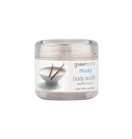 Milky body butter, rijstmelk-vanille, 150 ml