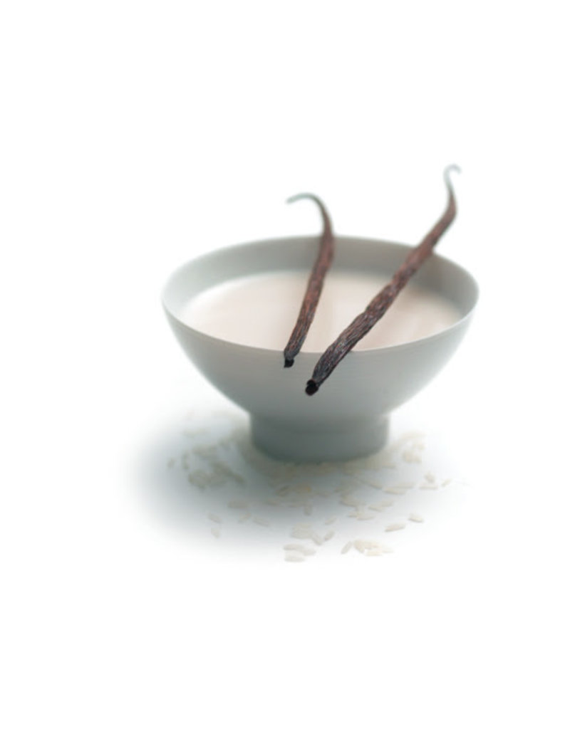 Milky shower mousse, rice milk - vanilla