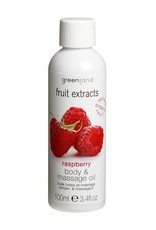Fruit Extracts, body & massage oil, raspberry, 100 ml