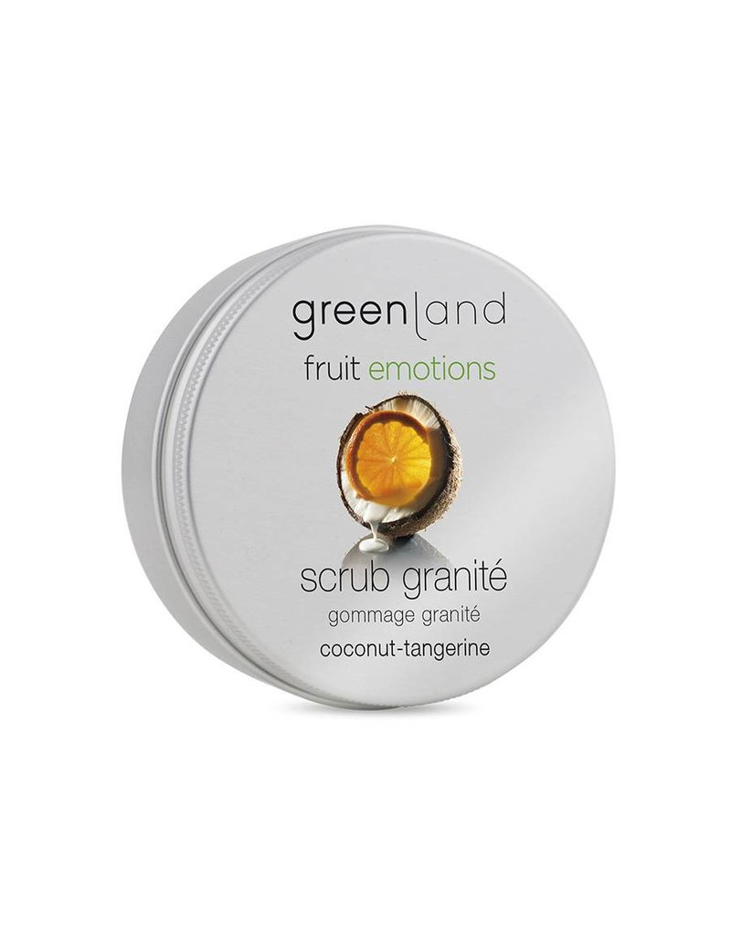 Fruit Emotions, scrub granité, kokos-mandarijn, 200 ml