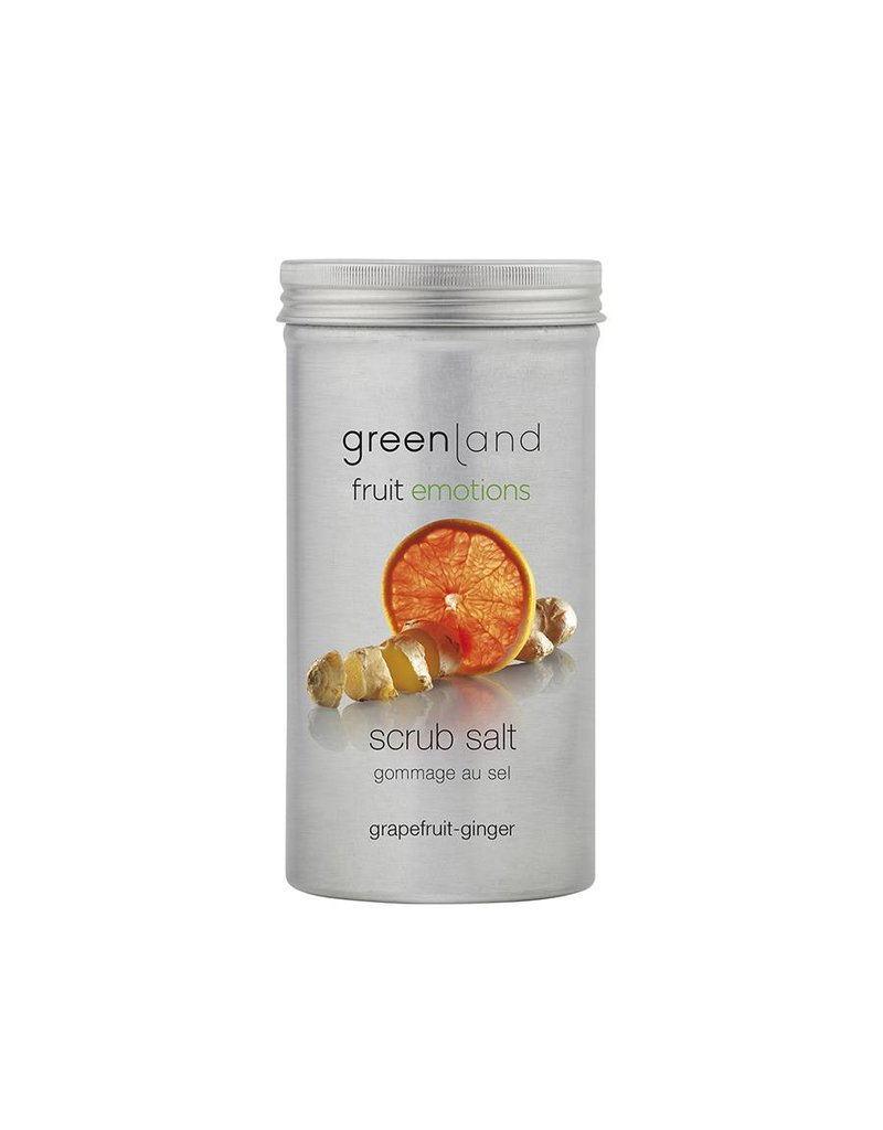 Fruit Emotions scrubzout grapefruit-gember, 400 g