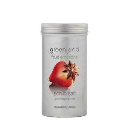 Fruit Emotions, Peelingsalz, Erdbeer-Anis, 400 g