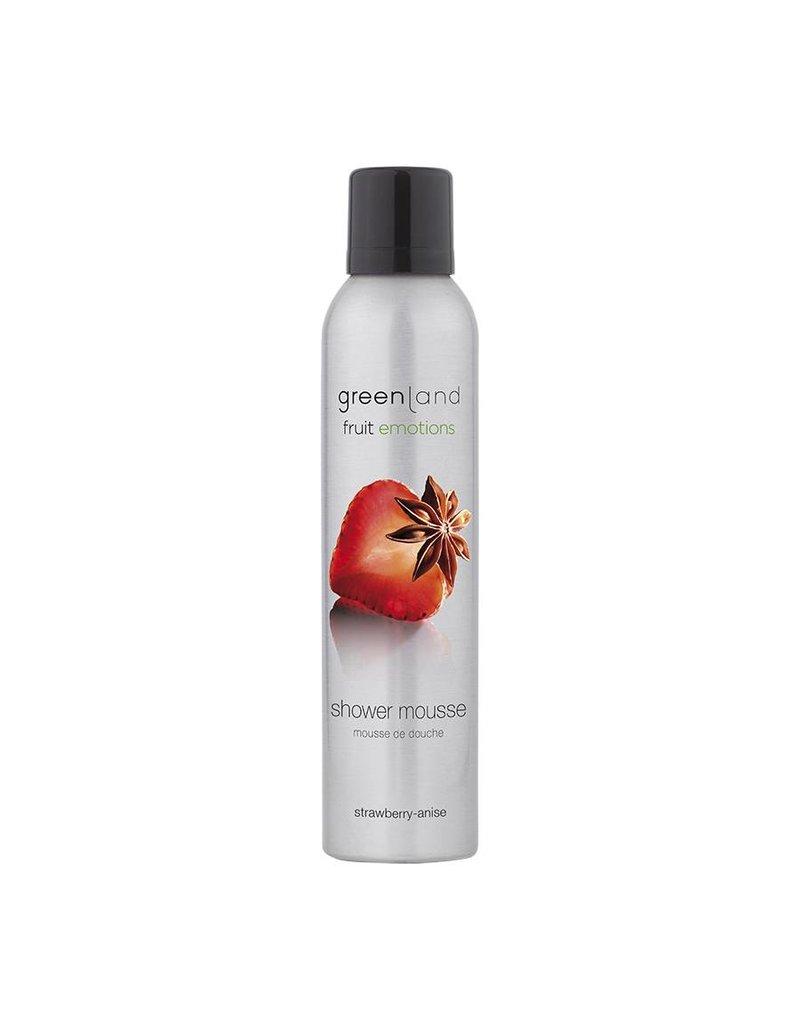 Fruit Emotions, shower mousse, strawberry-anise