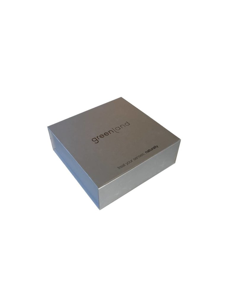Luxuriöse Greenland Geschenkbox, Aluminium