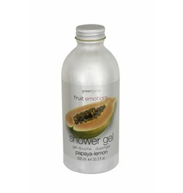 Fruit Emotions shower gel 600 ml, papaya-lemon