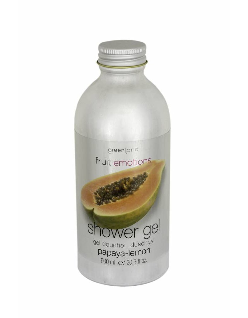 Fruit Emotions shower gel 600 ml, papaya-lemon