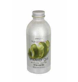 Fruit Emotions douchegel 600 ml, limoen-vanille