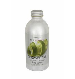 Fruit Emotions shower gel 600 ml, lime-vanilla