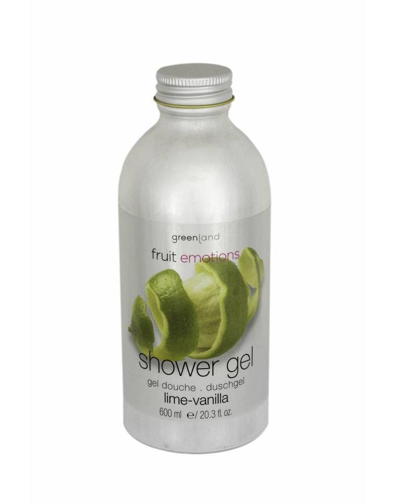 Fruit Emotions shower gel 600 ml, lime-vanilla