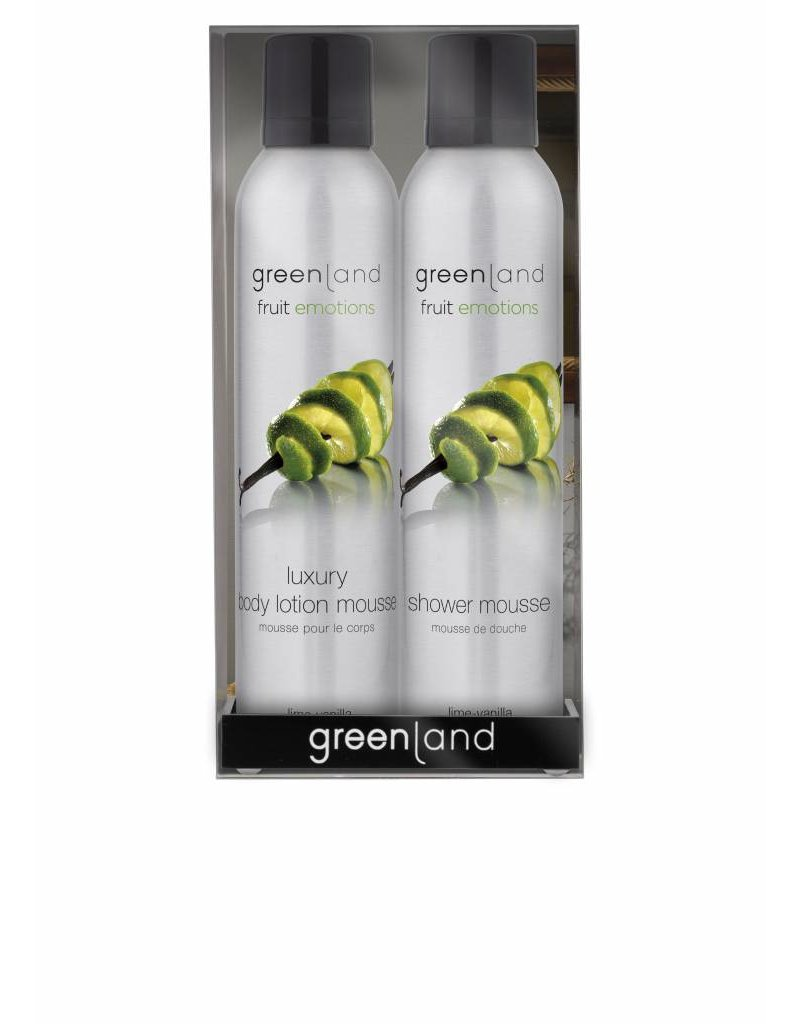 Fruit Emotions gift pack: mousse sensation, Limette-Vanille