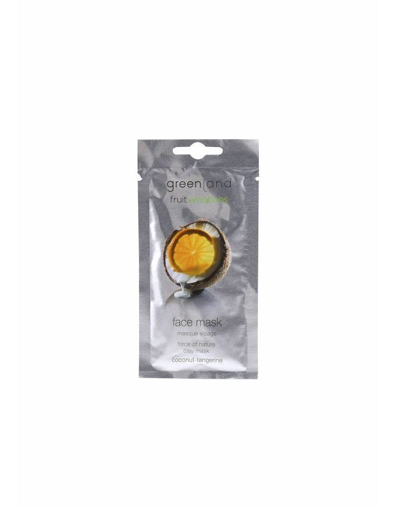 Greenland Fruit Emotions, face mask, coconut-tangerine, 10 ml