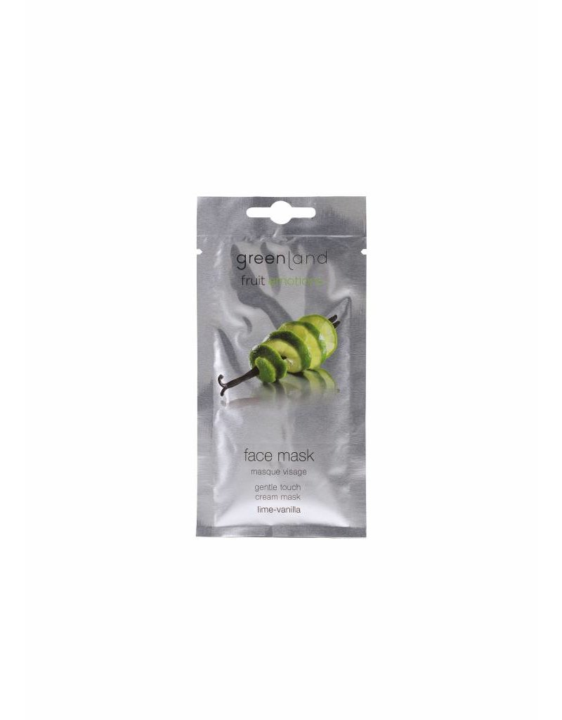 Greenland Fruit Emotions, face mask, lime-vanilla, 10 ml
