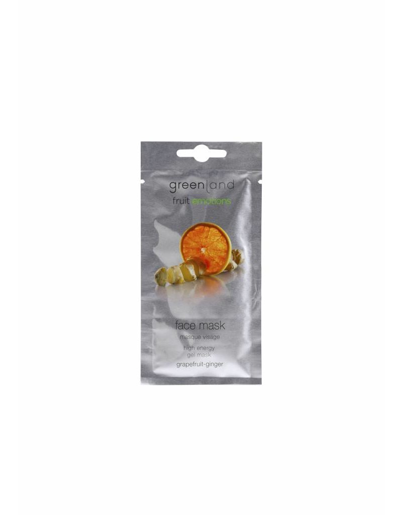Greenland Fruit Emotions, face mask, grapefruit-ginger, 10 ml