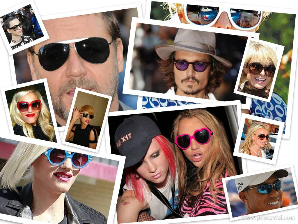 Beroemdheden die niet zonder hun zonnebril kunnen