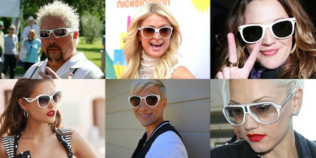 Witte zonnebril: is dat hip of niet?