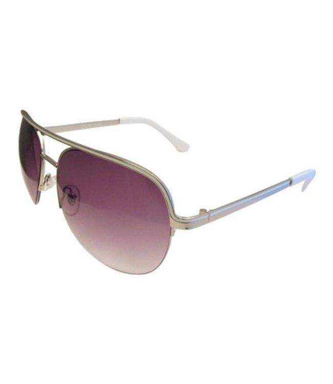 Witte Pilotenbril