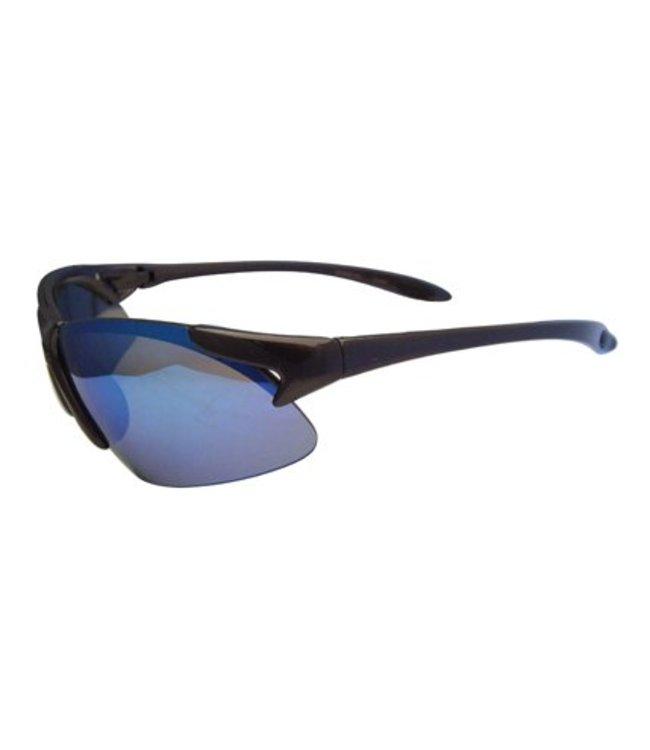 Blauwe Spiegel sportbril