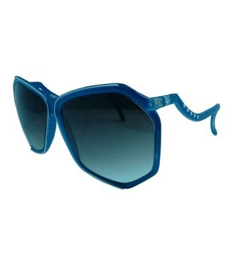 Blauwe Party Zonnebril