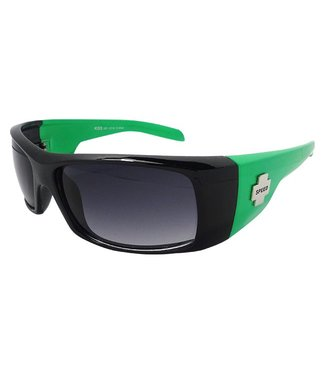 Zwart/Groene Chopperbril