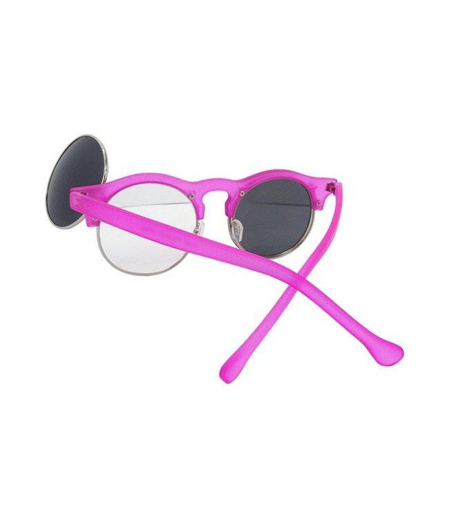 Roze Klepjes Zonnebril