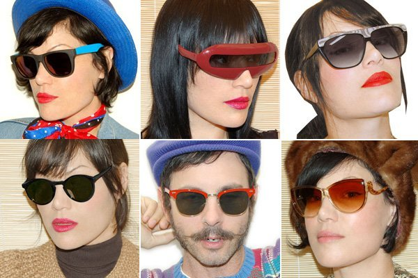 How to Wear Vintage Sunglasses Well: Be Stylish, not awkward