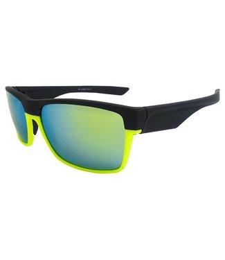 Gele Spiegelglas Sportbril