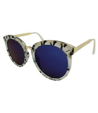 Dames Spiegelbril Clubmaster