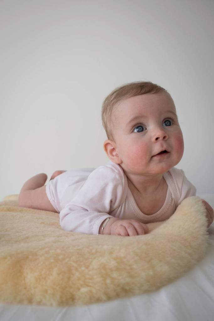testVan Buren Gezonde schapenvacht speciaal voor baby's