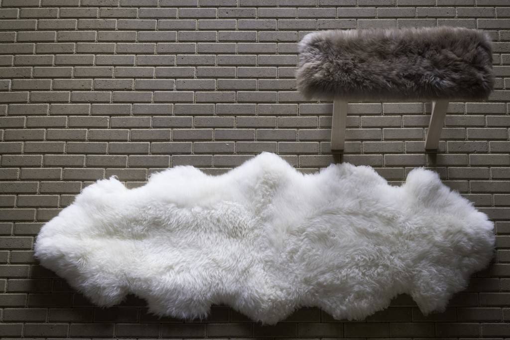 testVan Buren Vloerkleed van schapenvacht in diverse uitvoeringen
