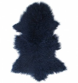 Van Buren Tibetaans schapenvacht - Navy blue