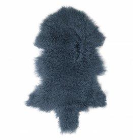 Van Buren Tibetaans schapenvacht - Vintage blue