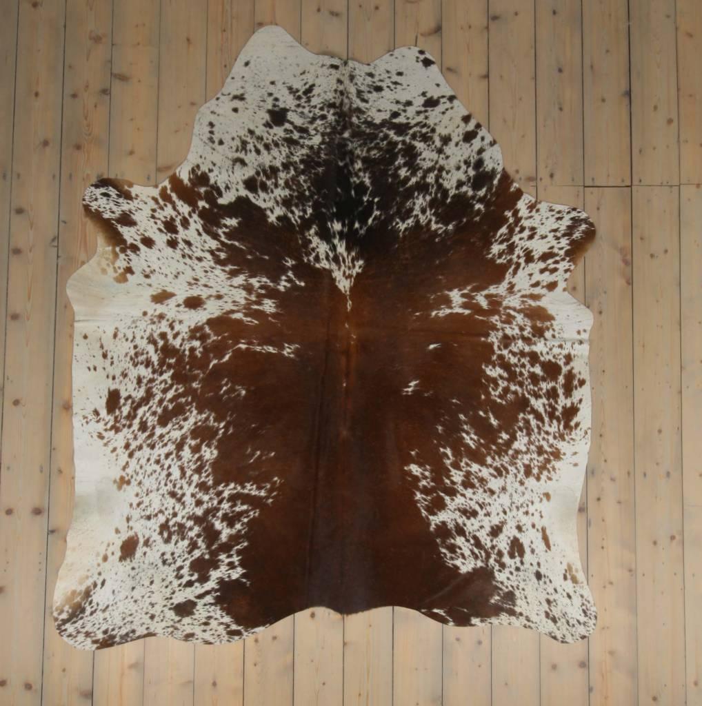 Van Buren Koeienhuid - Spotted - ca. 210x180 cm