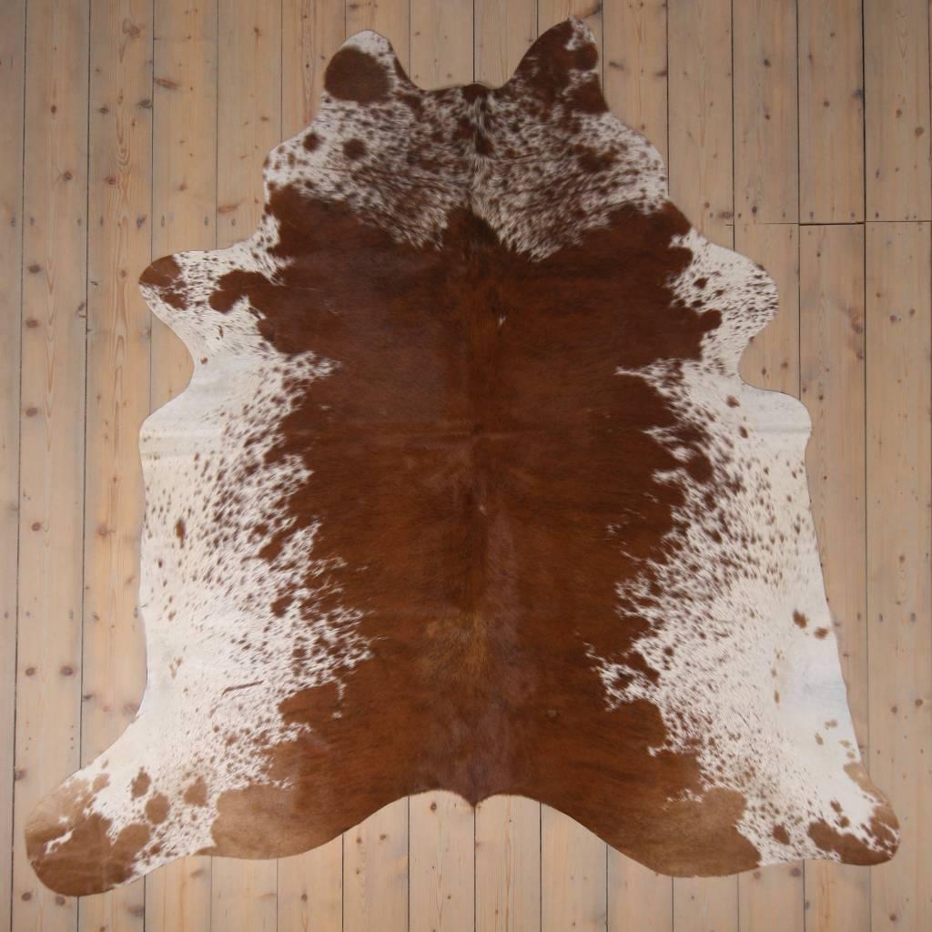 Van Buren Koeienhuid - Spotted - ca. 220x220 cm