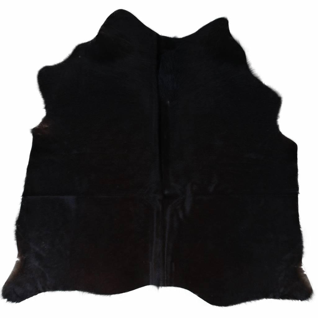 Van Buren Koeienhuid vloerkleed - Zwart -Diverse afmetingen