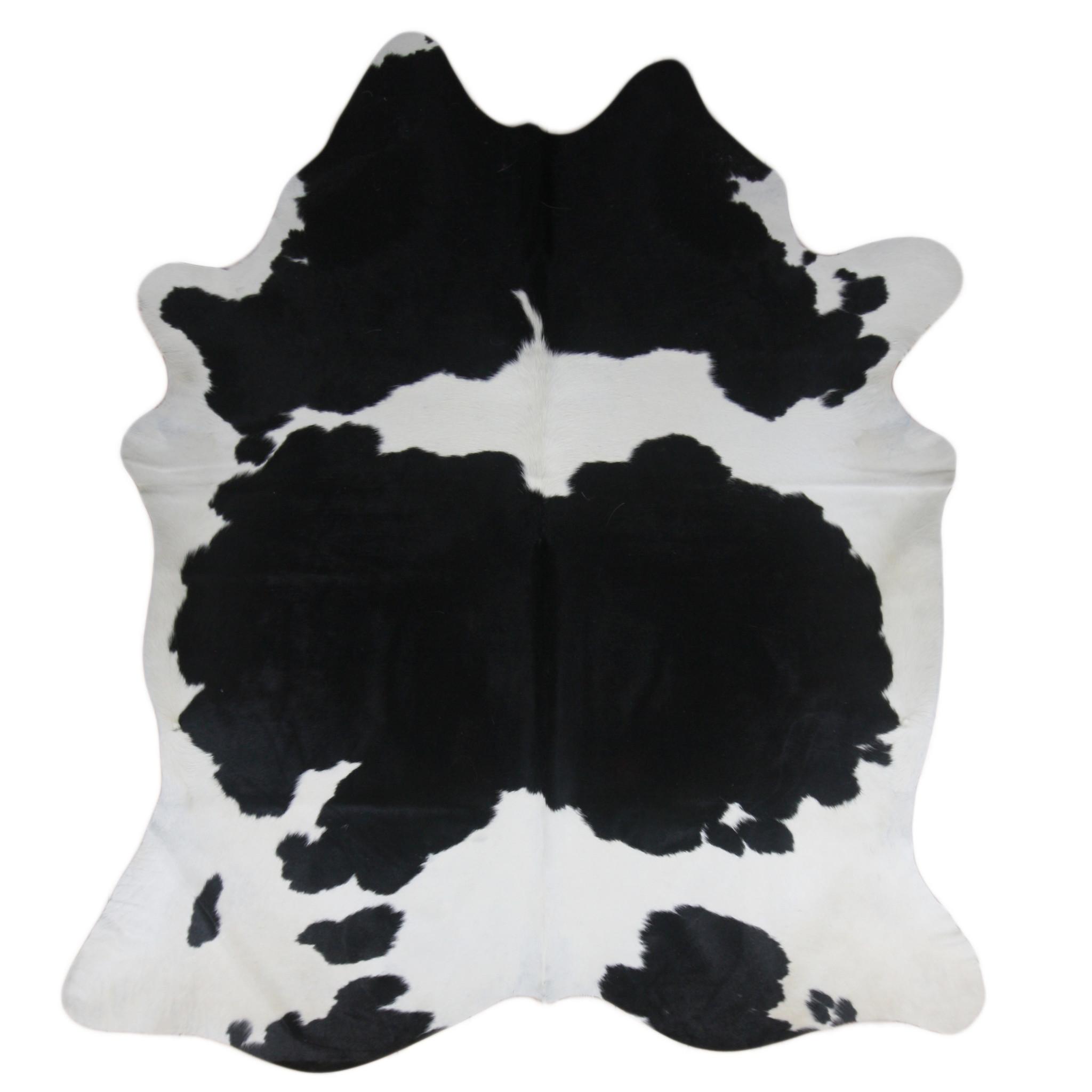 Van Buren Zwart wit koeienhuid vloerkleed