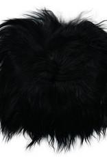 Van Buren Zwarte Chair Pad van IJslands Schapenvacht