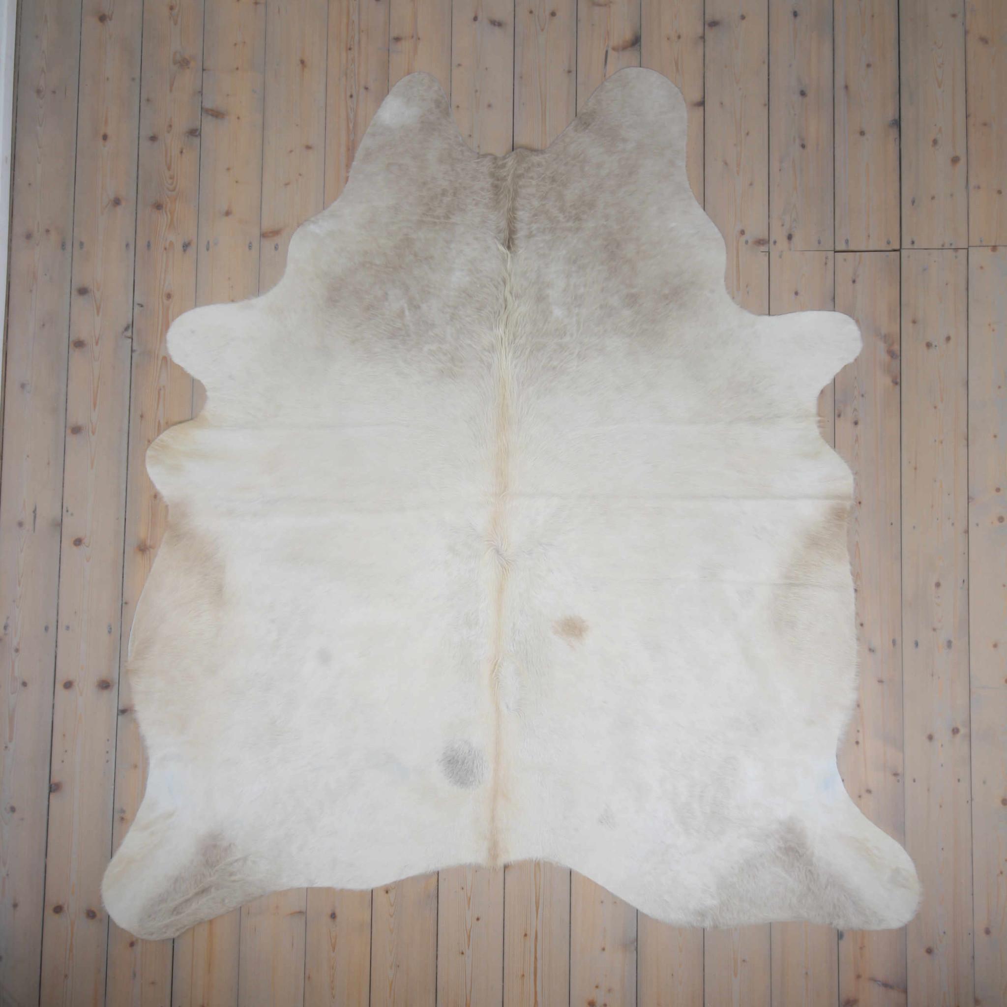 Van Buren Koeienhuid - Champagne - 200x200 cm