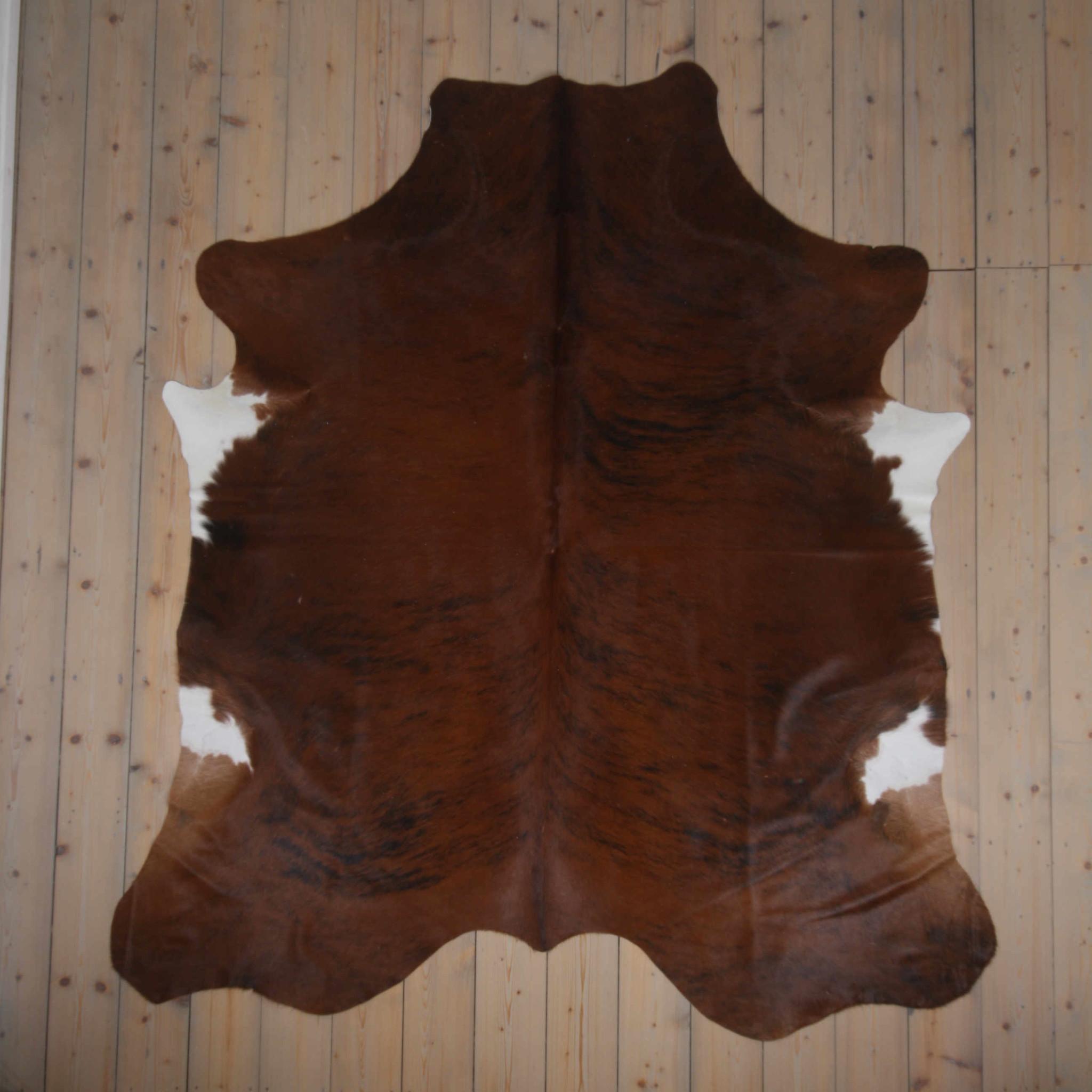 testVan Buren Koeienhuid - Driekleur - ca. 220x200 cm