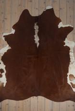Van Buren Koeienhuid - Roodbont - ca. 220x205 cm
