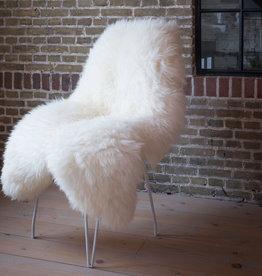Van Buren Texels schapenvaht - Wit (4 afmetingen)