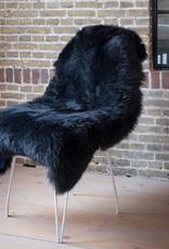 Van Buren Texels schapenvacht Zwart