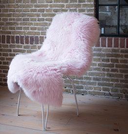 Van Buren Texels schapenvacht - Oud roze
