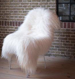 Van Buren IJslands schapenvacht - Wit